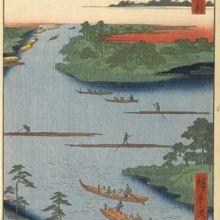 小名木川は、江戸時代、塩の運搬や生活物資の運搬で賑わっていま