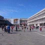 サンマルコ広場に面する建物