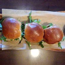 ビーフハンバーガー3つセット