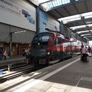 バイエルンチケットで鉄道の旅
