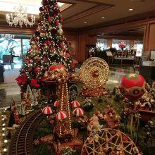 クリスマスの飾りが素敵