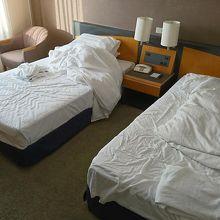 ツインベッドは普通