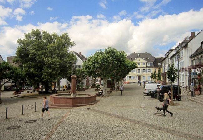 可愛らしい広場