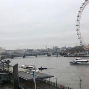 ロンドンを貫く有名な川