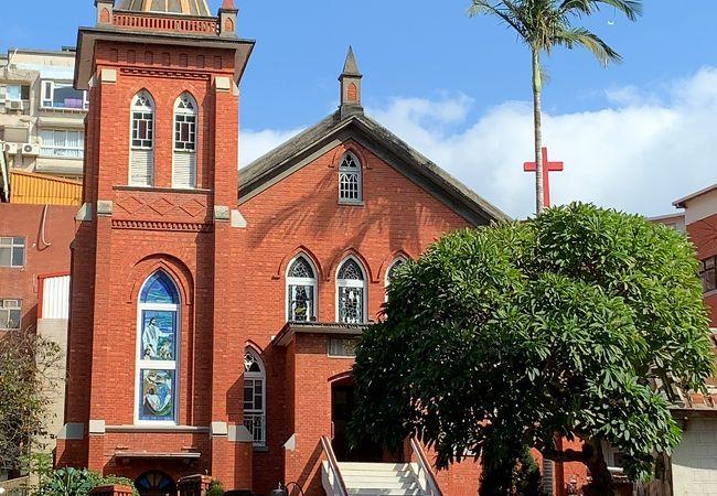 フォトスポットとしても人気の教会