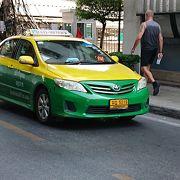 東南アジアのタクシーの中では比較的まとも