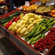 ブダペストの大きな市場