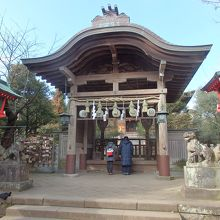 江の島神社奥津宮拝殿