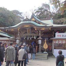 江の島神社辺津宮拝殿