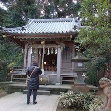 江ノ島・鎌倉七福神巡りで八坂神社に寄りました