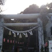 眺めの良い神社