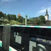 エストニアもトロリーバスが多く走っていた