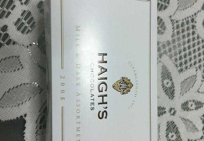 ハイグス チョコレート
