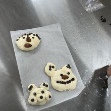 パン作り体験