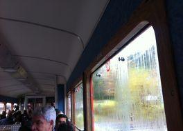 モンタンヴェールの登山鉄道