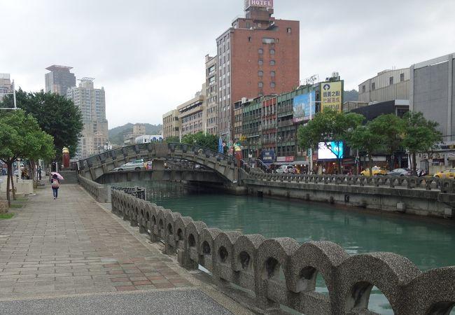田寮河雨岸人行歩道