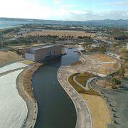 浜名湖ほとりの広大な公園