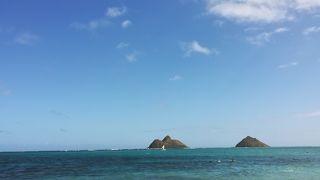 海と空の青さ