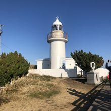 城ヶ島の西側の灯台