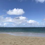 カイルアビーチから徒歩でラニカイへ