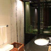 シャワールームからはジャングルが