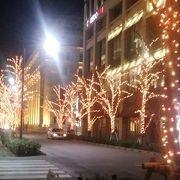 江戸桜通りのイルミネーション