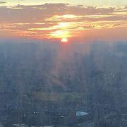 台北101夕日から夜景まで