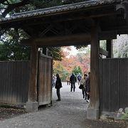 東京市が再建した門