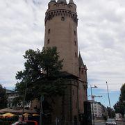 旧市街地の北にある塔です。