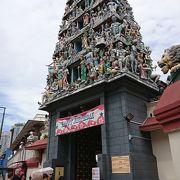にぎやかな寺院