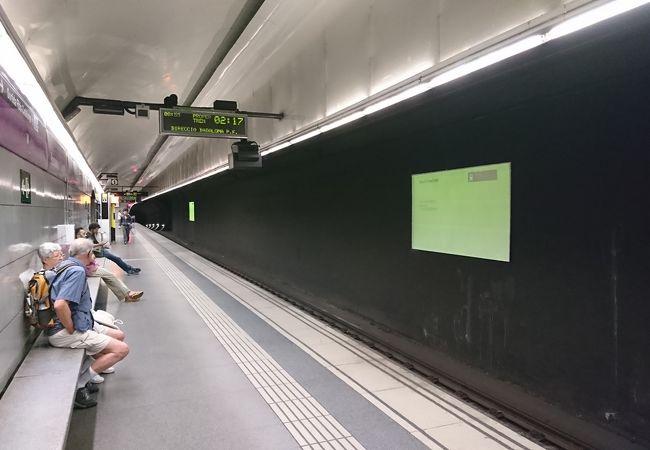 パセジ ダ グラシア駅