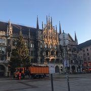 ミュンヘン観光の中心部