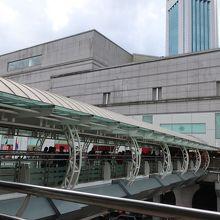 ジョホールバル駅、イミグレに直結のショッピングセンター