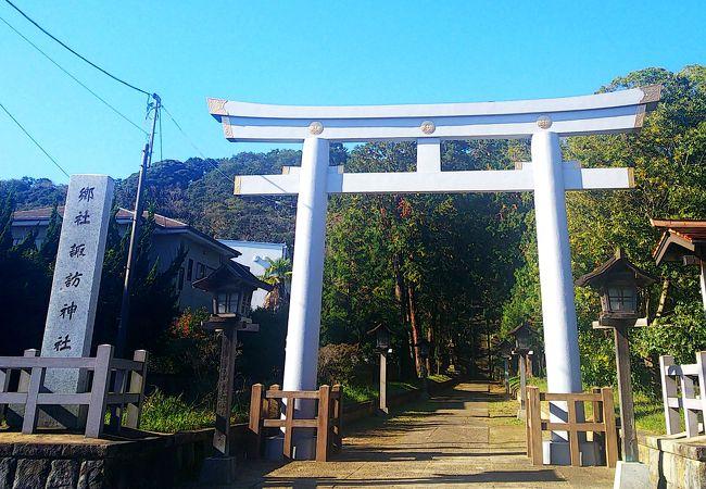 秋祭りの祭礼になっている神社