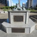 名犬チロリ記念碑