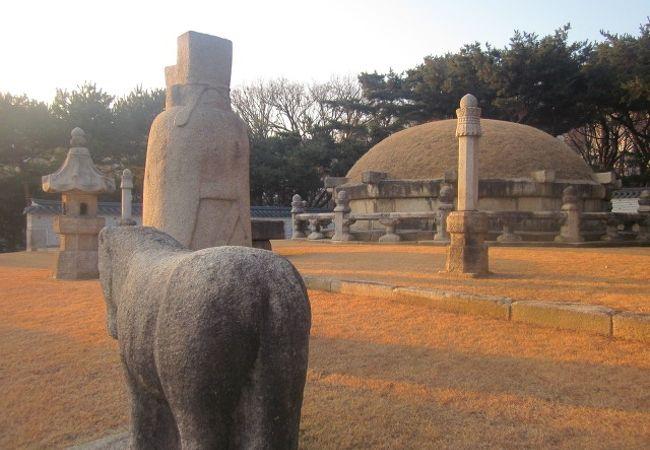 三陵公園 (宣陵 靖陵)