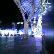 博多シティのイルミネーション