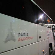 パリ市街地まで利用