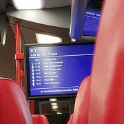 国鉄と私鉄(CAT)について 空港からウィーン観光の中心部(ウィーン・ミッテ駅)までの移動