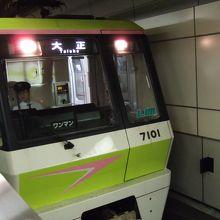 長堀鶴見緑地線の電車