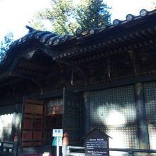 日光東照宮 奥社拝殿