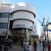 横須賀中央の繁華街にあるアーケード商店街