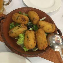 ポルトガル料理でランチ