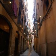 バルセロナの旧市街