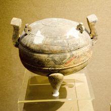天子駕六博物館第一展示室陶器