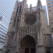 五番街にある教会