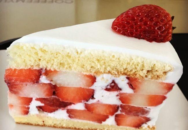 美味しいショートケーキ