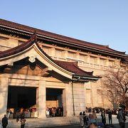 上野の国立博物館で高御座の展示