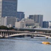 難波名橋の一つ、天神橋