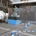 写真:黒田節銅像